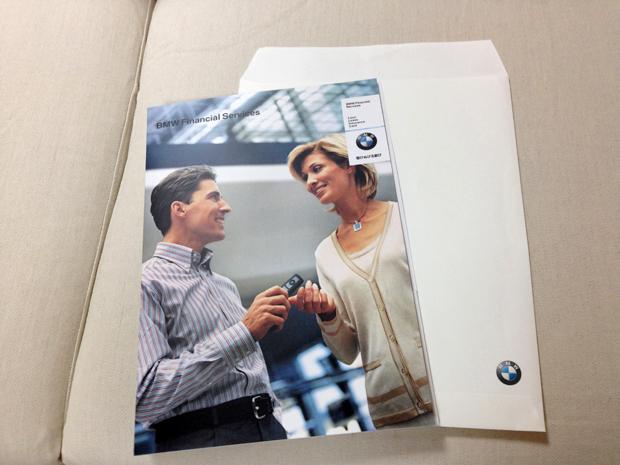 BMW新車注文書