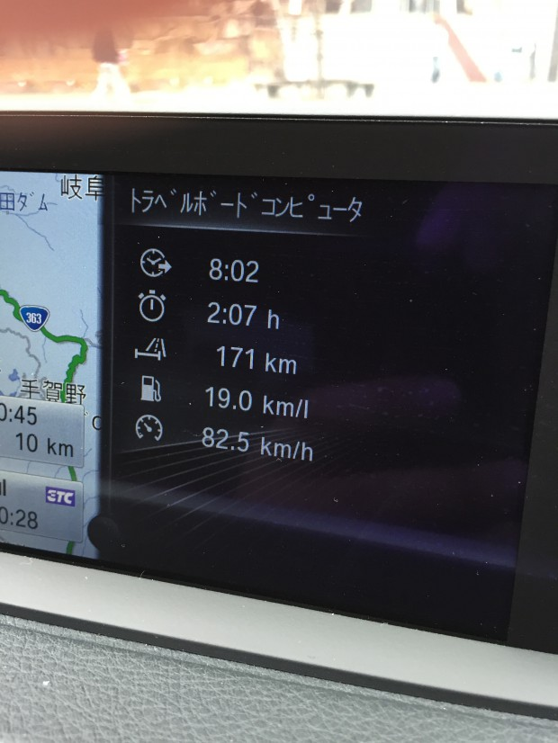 BMW320d燃費